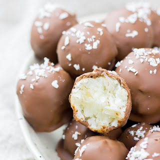 3 Ingredient Coconut Truffles Recipe