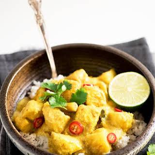 Malaysian Chicken and Potato Kapitan Curry.