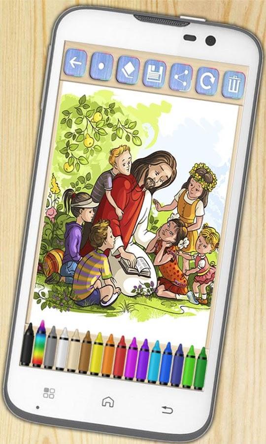 bible coloring book screenshot