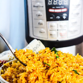 Instant Pot Mexican Rice.
