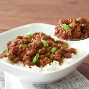Korean BBQ Chili