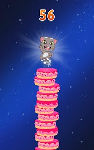 Download Talking Tom Cake Jump Mod Apk (Unlimited Money) for Android 6