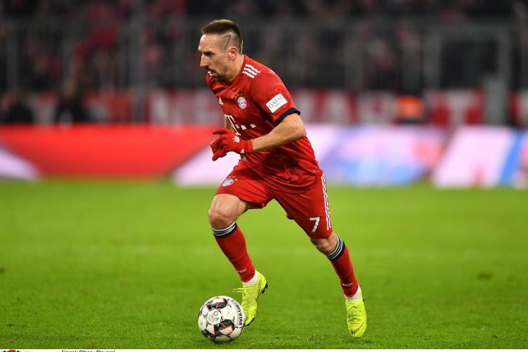Le Bayern se déplace à Liverpool sans un élément d'expérience, Ribéry arrivera plus tard