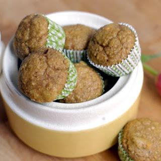 Carrot-banana Oat Muffins