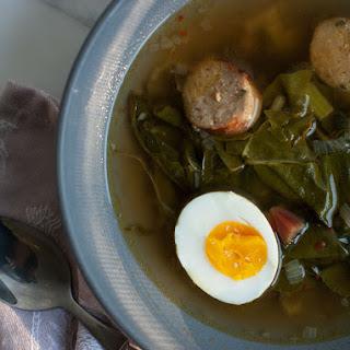 Kale and Chard Potlikker Soup Recipe