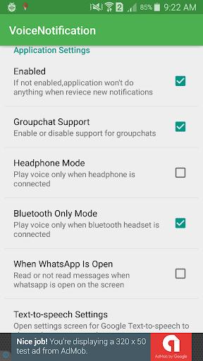 Message Reader For WhatsApp 2.0 screenshots 1