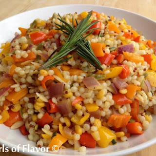 Sweet Mini Peppers Couscous.
