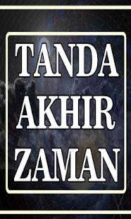 Tanda Akhir Zaman - náhled
