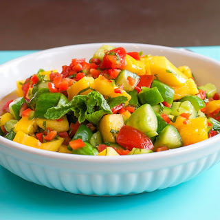 Thai Mango and Cucumber Salsa