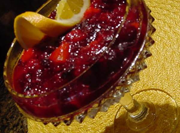 Bonnie's Cranberry Orange Sauce
