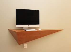 Photo: Computer desk/shelf