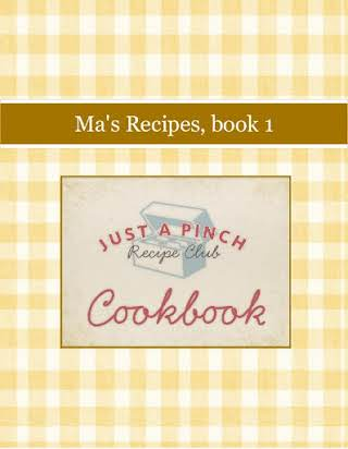 Ma's Recipes, book 1