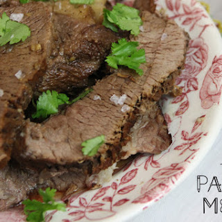 Balsamic Instant Pot Roast Beef Recipe