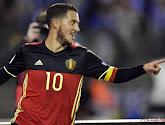 Eden Hazard leidde de Rode Duivels naar een 4-0-overwinning tegen Bosnië