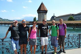 Photo: naše parta v Luzernu