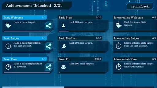 I Hacker - Password Break Puzzle Game apkpoly screenshots 2