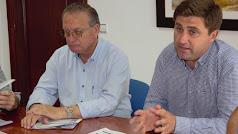 Concejales de Servicios a la Ciudadanía, José Galdeano, y Empleo, José Juan Rodríguez.