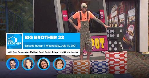 Big Brother 23 | Wednesday Recap July 14 LIVE 11e/8p