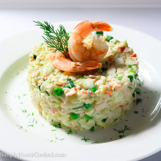 Seafood Salad Imitation Crab And Shrimp Recipes