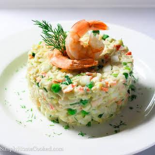 Crab and Shrimp Salad.