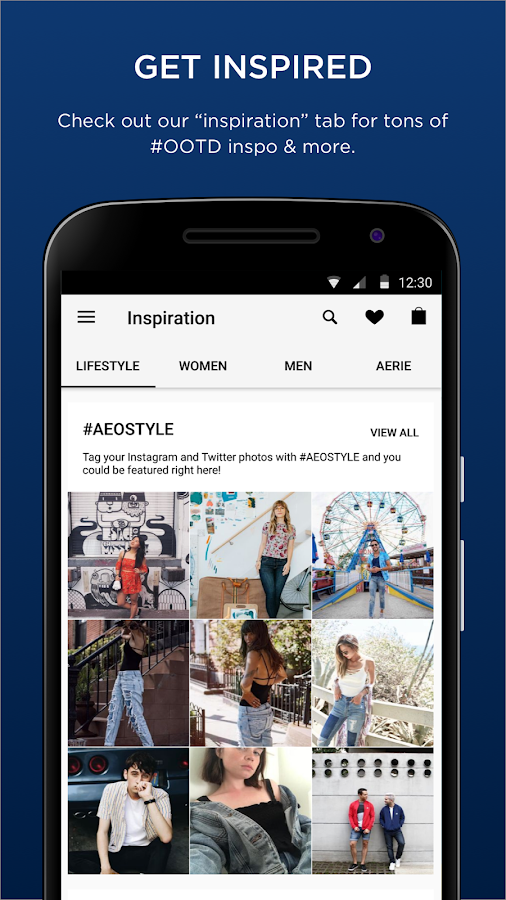 AEO|Aerie: Jeans, Dresses, Swimsuits & Bralettes- screenshot