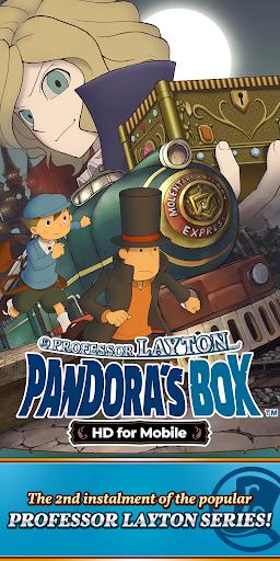Layton: Pandora's Box in HD  screenshots 1