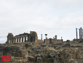 Photo: Volubilis was the administrative center of the province in Roman Africa called Mauretania Tingitana. The fertile lands of the province produced many commodities such as grain and olive oil, which were exported to Rome, contributing to the province's wealth and prosperity.
