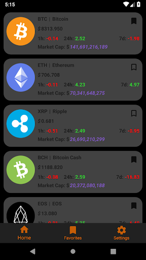 Crypto Tracker screenshot 5
