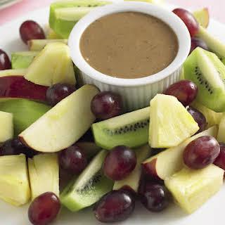 Fresh Fruit with Mocha Dip.