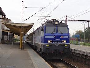"""Photo: EP09-025, TLK """"Bałtyk"""" Poznań Główny - Gdynia Główna {Inowrocław; 2015-09-23}"""