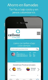 Cellvoz- screenshot thumbnail