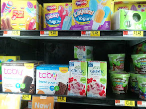 Photo: There weren't many other frozen yogurts being sold at Walmart.