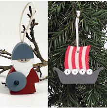 Vikingaskepp hängande,  Viking hängande