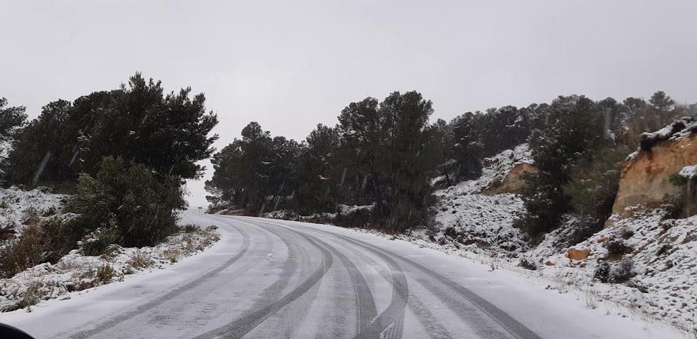 Imagen tomada en el Carril de los Pinos de Líjar. / Foto: Ayto. Líjar