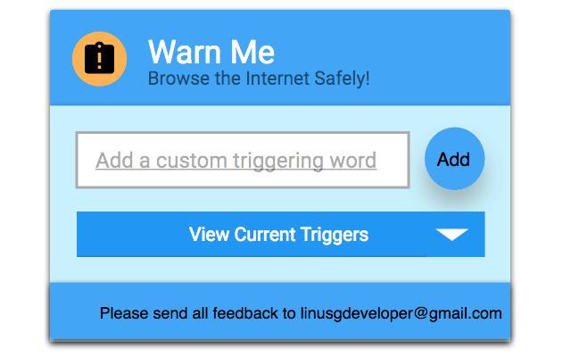 Warn Me