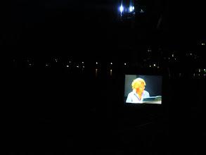 Photo: Na ekranie (w orkiestrze Wiener Symphoniker) Ania Marchwińska gra na glockenspielu