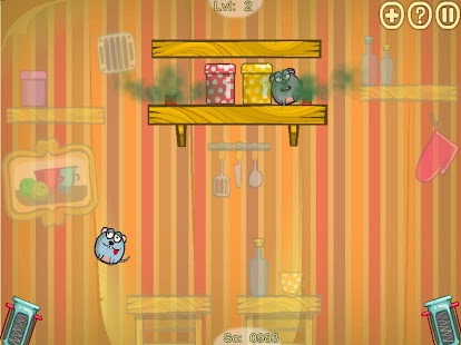 Rats Invasion : Physics Puzzle Game Screenshot