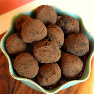 Salted Honey And Olive Oil Truffles.