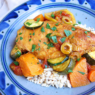 Tangy Paleo Chicken Tagine
