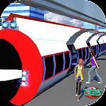 Real Futuristic Elevated Sky Tram Train Simulator Icon