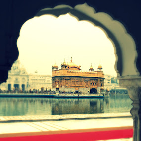 The Heaven on Earth  by Satminder Jaggi - Buildings & Architecture Places of Worship ( golden temple, sikh, harmandir sahib, sikh temple, worship )