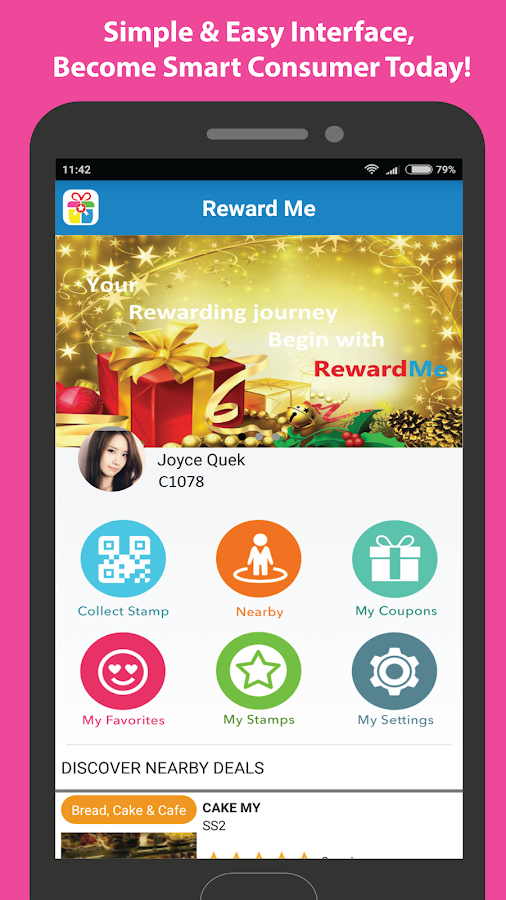 RewardMe- screenshot
