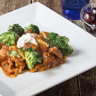 Sauce Vegetarian Ravioli Recipes