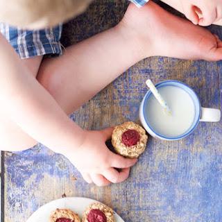Healthy Thumbprint Cookies.
