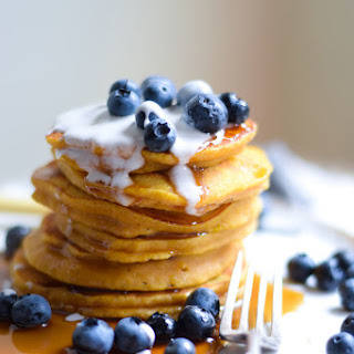 Gluten Free Pumpkin And Coconut Pancakes