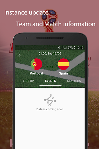World Cup 2018 Live Scores & Fixtures 2.0.1 screenshots 4