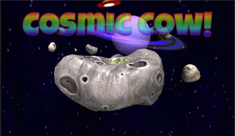 Cosmic Cow- screenshot