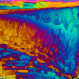Spelunking by Scott Taft - Abstract Patterns ( abstract art, microscopic art, abstract, microscopic, microscope )