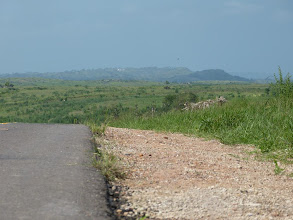 Photo: On the road to Muxima - view on the plain.