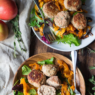 Easy Paleo Turkey Meatballs with Apples & Savory Herbs {Whole30}